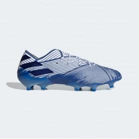 A4901 Football Boots ADIDAS Nemeziz 19.1 FG -Cloud White/Team Royal Blue/Team Royal Blue
