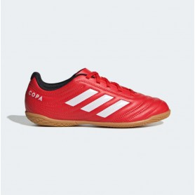 A4912 Children Soccer adidas Copa 20.4  IN Jr.-Active Red/Cloud White/Core Black
