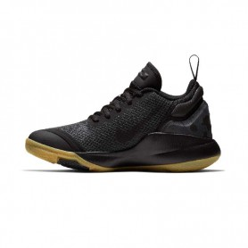 N0615 รองเท้าบาสเก็ตบอลเด็ก NIKE Lebron Witness II-Black