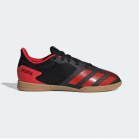 A4917 Kids Futsal adidas Predator 20.4 Sala IN Jr.-Core Black/Active Red/Core Black
