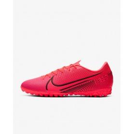 N4880 Football Boot Nike Mercurial Vapor 13 Academy TF-LASER CRIMSON/BLACK