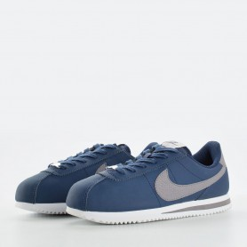 N0617 รองเท้า Sneakers เด็ก Nike Cortez Basic SL GS-Navy