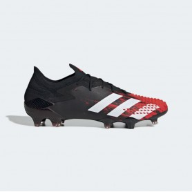 A4931 Football Boot  ADIDAS Predator Mutator 20.1 FG- Core Black/Cloud White /Active Red