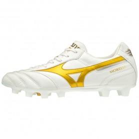 M4928 Football Boots MIZUNO MORELIA II JAPAN - WHITE/GOLD