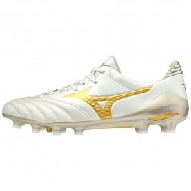M4958 รองเท้าสตั๊ด รองเท้าฟุตบอล MIZUNO MORELIA NEO II MD- WHITE/GOLD