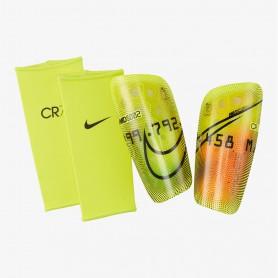 N4961 สนับแข้ง  Nike Mercurial Lite CR7 - Lemon Venom/Total Orange/Black
