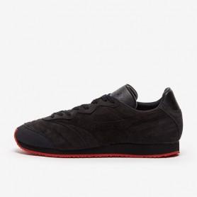 M4963 รองเท้าแฟชั่น Sneakers Mizuno  Morelia 1985 Made In Japan-Black/Black