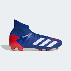 A4966 Football Boot ADIDAS Predator 20.3 FG-Team Royal Blue/Cloud White/Active Red