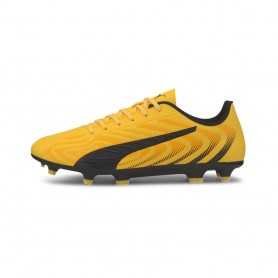 P4989 รองเท้าฟุตบอลเด็ก รองเท้าสตั๊ดเด็ก Puma  ONE 20.4 FG/AG-YELLOW