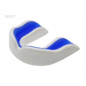 D5015  ฟันยางผู้ใหญ่ Mouthguard Cushion (adult)- White/Blue