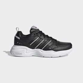 A5110 รองเท้าแฟชั่นผู้หญิง ADIDAS STRUTTER-CORE BLACK / CORE BLACK / BLUE TINT