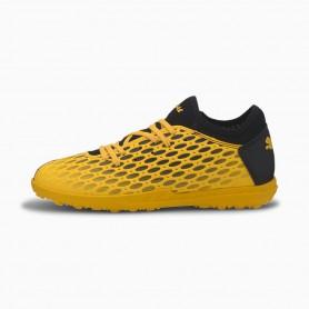 P5132 รองเท้าฟุตบอลเด็ก รองเท้า 100 ปุ่มเด็ก FUTURE 5.4 TT -ULTRA YELLOW-Puma Black