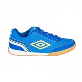 U0472 รองเท้าฟุตซอล UMBRO Futsal Street V-สีฟ้า