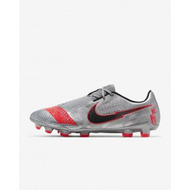 N4876 Football Boot Nike Phantom Venom Elite FG-Laser Crimson/Black/Metallic Silver