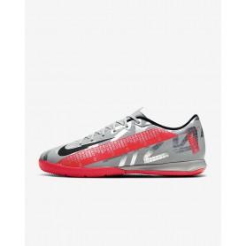 N4759 Futsal Boots Nike Mercurial Vapor 13 Academy MDS IC-Blue Void/White/Black/Metallic Silver