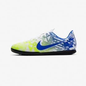N4552 Indoor Court Football Shoe Nike Jr. Mercurial Vapor 13 Club MDS IC-Blue Void/White/Black/Metallic Silver