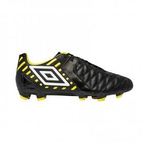 U0632 รองเท้าฟุตบอล รองเท้าสตั๊ด UMBRO Medusae Premier HG- สีดำ/ขาว/เหลือง