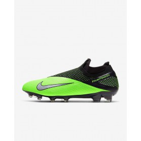 N4154 Football Boot Nike Phantom Vision Elite Dynamic Fit FG-Volt/Barely Volt/White