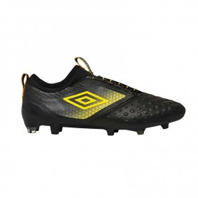 U0633 รองเท้าฟุตบอล รองเท้าสตั๊ด UMBRO UX Accuro II Pro FG - สีดำ/เหลือง