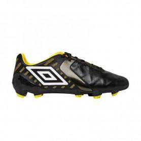 U0634 รองเท้าฟุตบอล รองเท้าสตั๊ด UMBRO MEDUSAE II PRO HG -สีดำ/ขาว/เหลือง