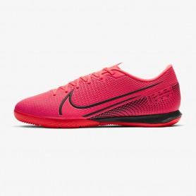 N5069 รองเท้าฟุตซอล Nike Mercurial Vapor 13 Academy IC -Laser Crimson/Laser Crimson/Black