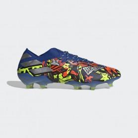 A4742 Football Boot ADIDAS Nemeziz Messi 19.1 FG-Tech Indigo/Signal Green/Glory Purple