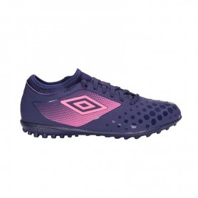 U0473 รองเท้าฟุตบอล รองเท้า 100 ปุ่ม UMBRO UX Accuro II Club TF-สีม่วง
