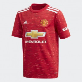 A5243 เสื้อฟุตบอลเด็ก ADIDAS Manchester United Home Replica Jersey 20/21-ของแท้