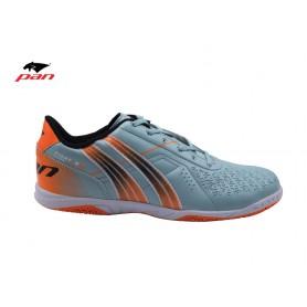 PA0636 รองเท้าฟุตซอล Pan FIGHTER 4 - LT.Blue/Orange