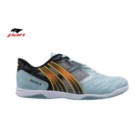 PA0637 รองเท้าฟุตซอล Pan VENTURE 2 - LT.Blue/Orange