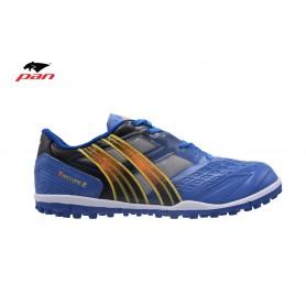 PA0644 รองเท้าฟุตบอล 100 ปุ่ม สนามหญ้าเทียม Pan VENTURE 2 - Blue/Black