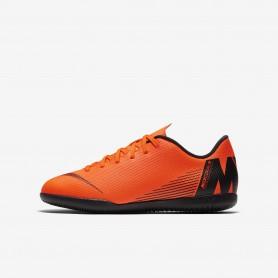 N0639 รองเท้าฟุตซอลเด็ก Nike MercurialX Vapor XII Club IC Jr. -ORANGE/BLACK