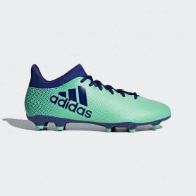 A0649 รองเท้าฟุตบอล รองเท้าสตั๊ด ADIDAS X 17.3 FG -Aero/Green