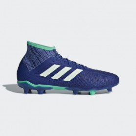 A0651 รองเท้าฟุตบอล รองเท้าสตั๊ด ADIDAS Predator 18.2 FG -Blue