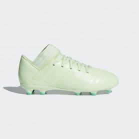 A0654 รองเท้าฟุตบอล รองเท้าสตั๊ดเด็ก ADIDAS Nemeziz 17.3 JR. FG -Aero/Green