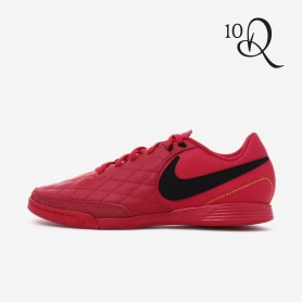 N0666 รองเท้าฟุตซอล Nike TiempoX Ligera IV 10R IC -RED