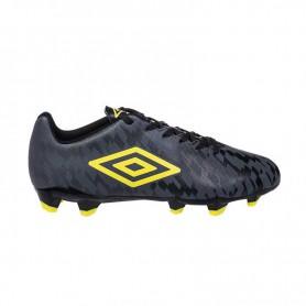 U0669 รองเท้าฟุตบอล รองเท้าสตั๊ด UMBRO Veloce 3 Hawaiian Surf-สีดำ/เหลือง