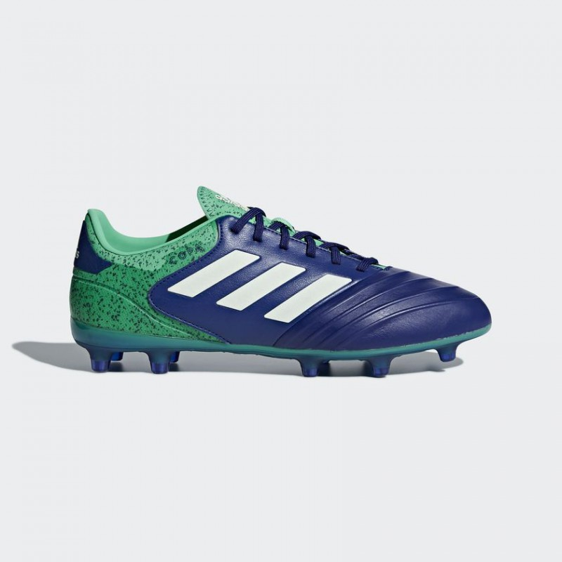 A0675 รองเท้าฟุตบอล รองเท้าสตั๊ด ADIDAS COPA 18.2 FG -Unity Ink/Aero Green