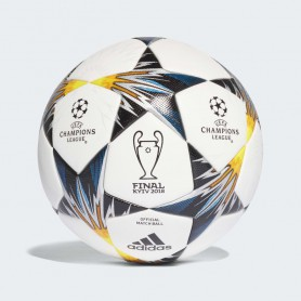 A0681 ลูกฟุตบอล ADIDAS UCL Finale Kiev Official Match Ball-White/Black/Yellow/Blue