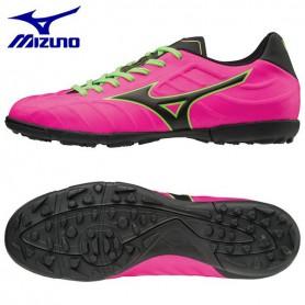 M0703 รองเท้าฟุตบอล 100ปุ่ม สนามหญ้าเทียม MIZUNO REBULA V3 AS-Ping/Black