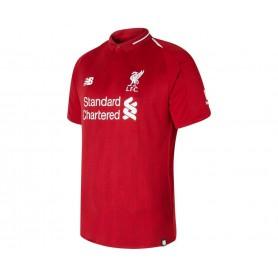 NB0711 เสื้อฟุตบอล newbalance Liverpool Home Short Sleeve Jersey 18/19 - ชุดเหย้า ของแท้