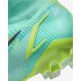 N6044 รองเท้าสตั๊ด รองเท้าฟุตบอล Nike Mercurial Superfly 8 Elite FG-Dynamic Turquoise/Lime Glow