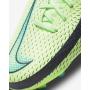 N6051 รองเท้าฟุตบอลเด็ก รองเท้าสตั๊ดเด็ก Nike Jr. Phantom GT Academy Dynamic Fit MG-Lime Glow/Aquamarine