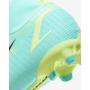 N6052 รองเท้าฟุตบอลเด็ก รองเท้าสตั๊ดเด็ก Nike Jr. Mercurial Superfly 8 Academy MG -Dynamic Turquoise/Lime Glow