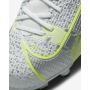 N6053 รองเท้าฟุตบอลเด็ก รองเท้าสตั๊ดเด็ก Nike Jr. Mercurial Superfly 8 Academy MG -Metallic Silver/Volt