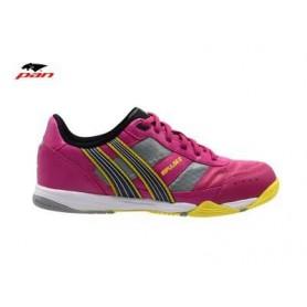 PA0070 รองเท้าฟุตซอล Pan IMPULSE 3 - Pink/Yellow (ตัวรอง)