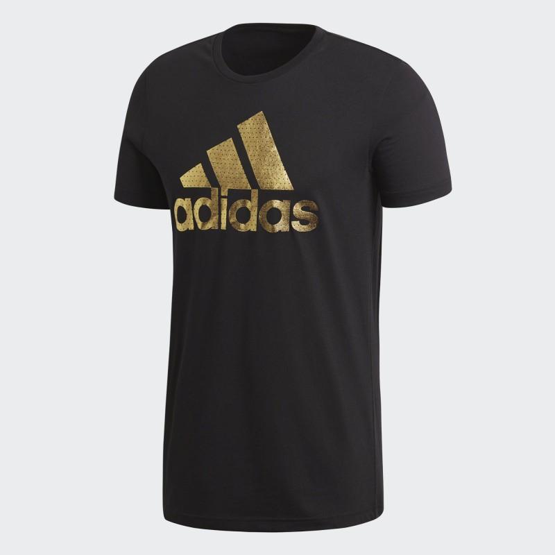 A0733 เสื้อยืดแฟชั่น adidas Badge of Sport Tee-BLACK