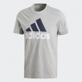 A0734 เสื้อยืดแฟชั่น adidas Essentials Linear Tee-Grey