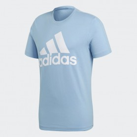 A0735 เสื้อยืดแฟชั่น adidas Training Essentials Tee-Ash Blue