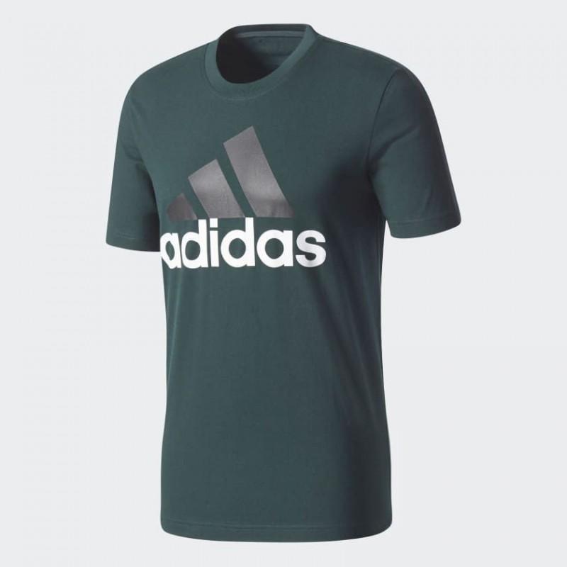 A0736 เสื้อยืดแฟชั่น adidas Training Essentials Tee-Green Night